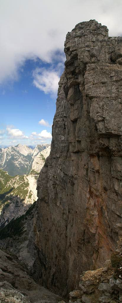 Monte Zabus west face