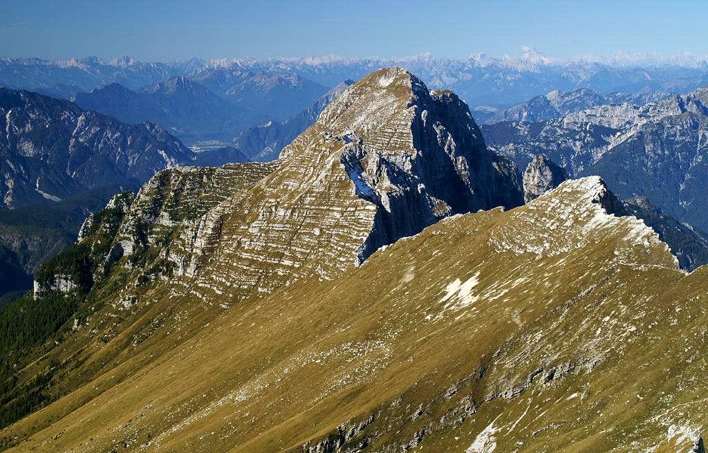 Monte Cimone (2379m), Monte Zabus (2244m)