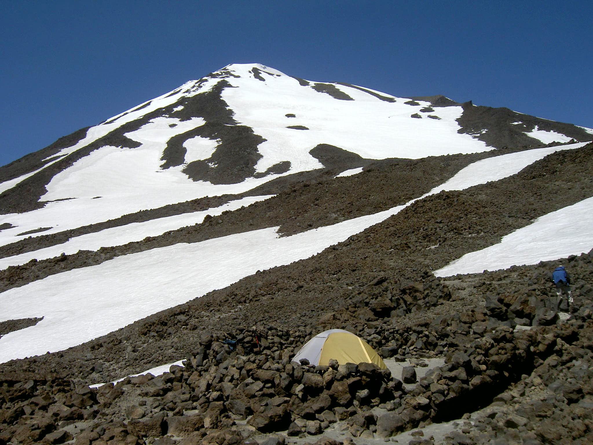 Mt Adams: Humming Birds and Solitude