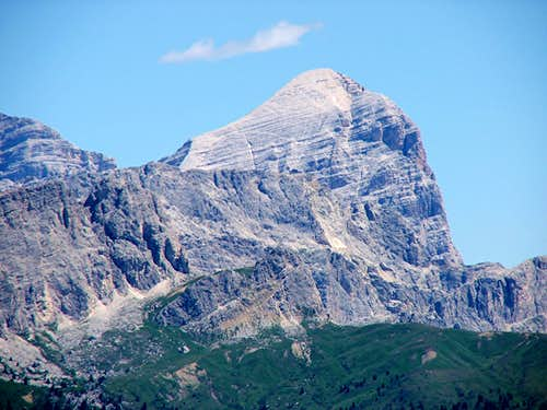 Tofana di Rozes from the West