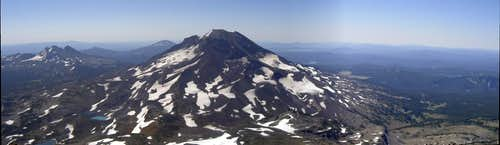 Middle Sister Panorama
