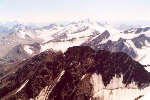 Wiew from the Wildspitze...