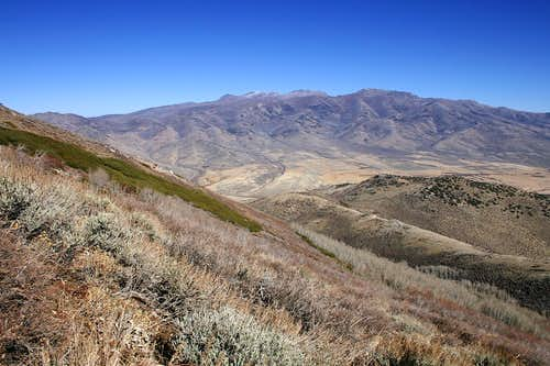 East Humboldt Range from Secret Peak\'s east slope