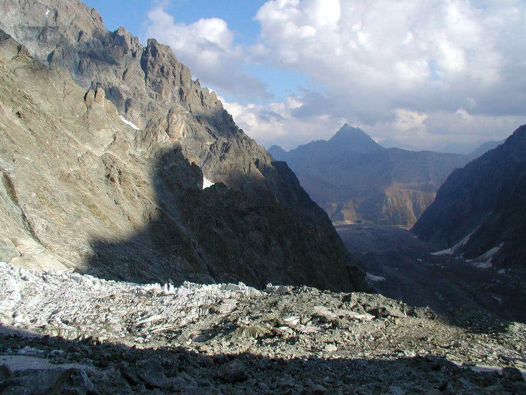 View from Gonella hut