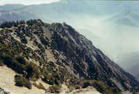 a north eastern ridge high up...