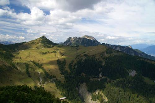Dovska Baba (1891m) and Kepa (2143m)