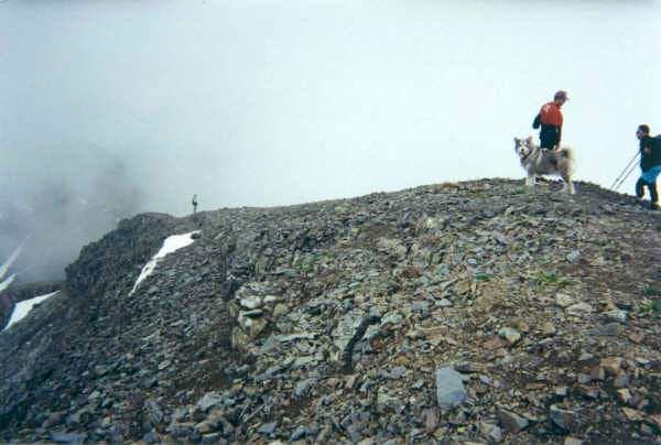 eastern summit ridge