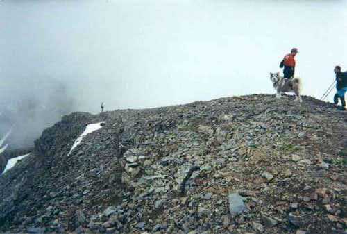 eastern summit ridge