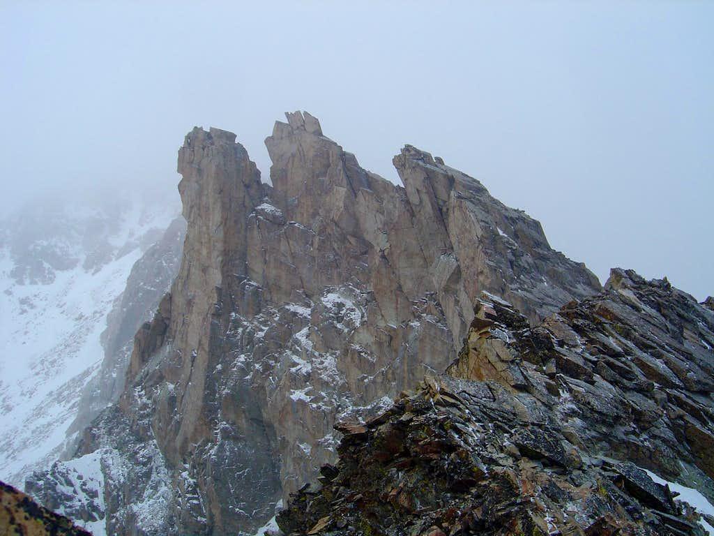 14 Some Spires along the Ridge