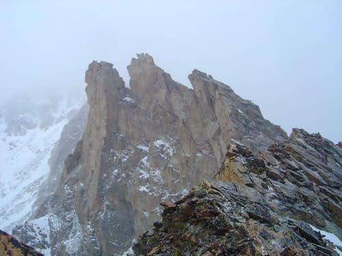 Pawnee Peak - East Ridge