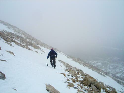 21-Descending after Pawnee Pass