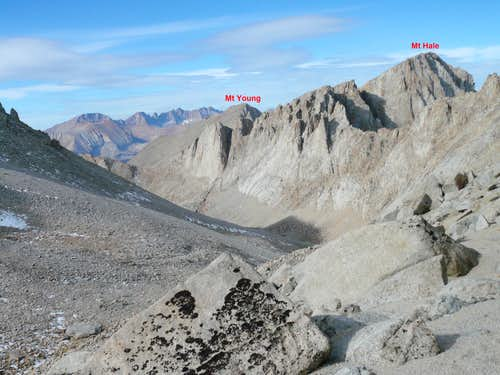 View from Arctic Lake basin