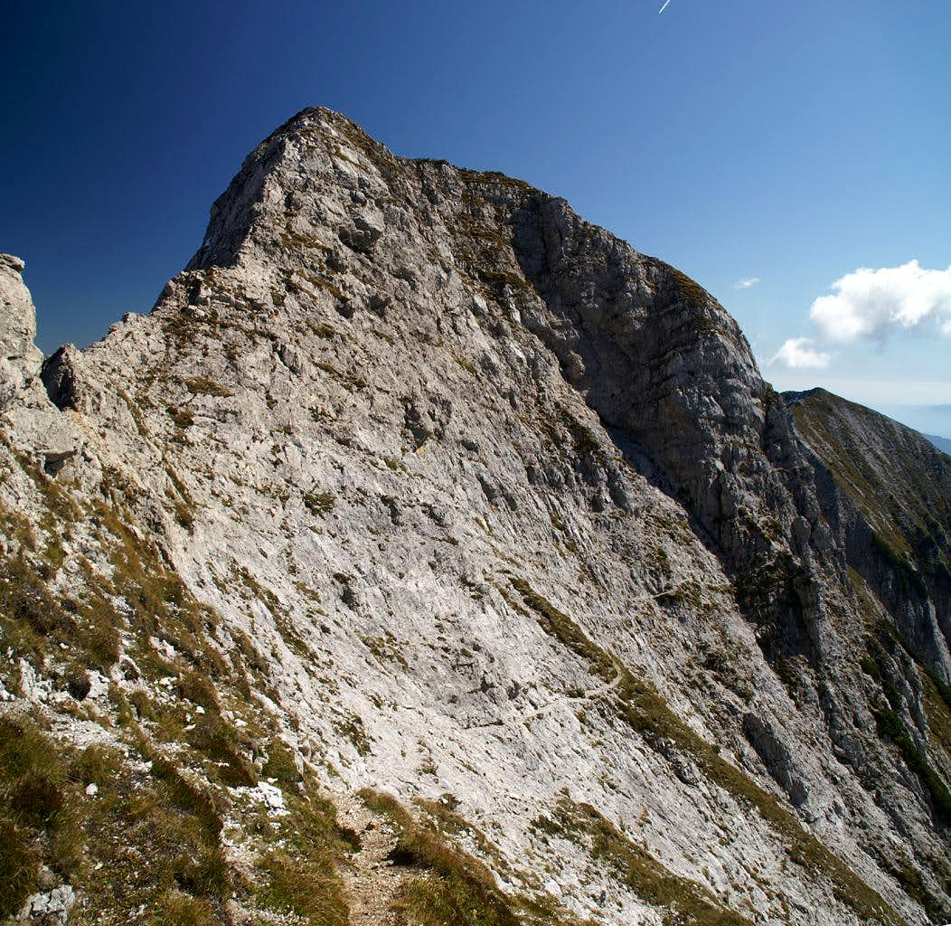 East Ridge from Dovje