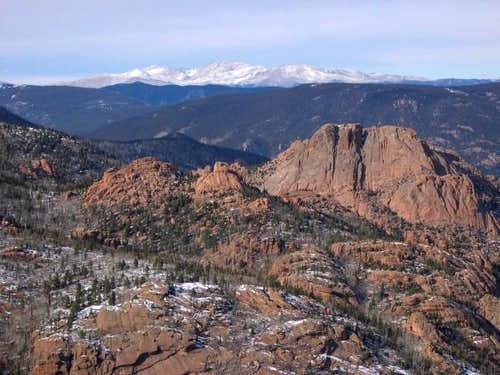The Mount Evans Massif from...