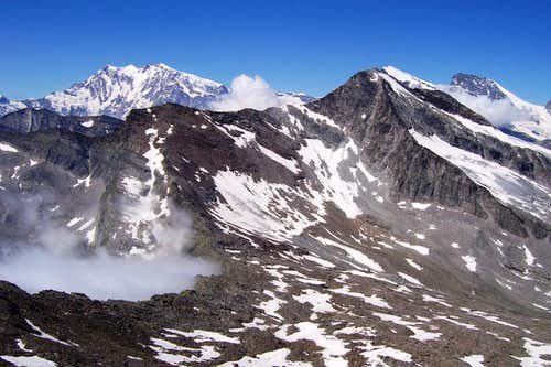 Saas peak, view from the summit 03