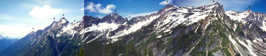 A panorama from Mystery Hill:...