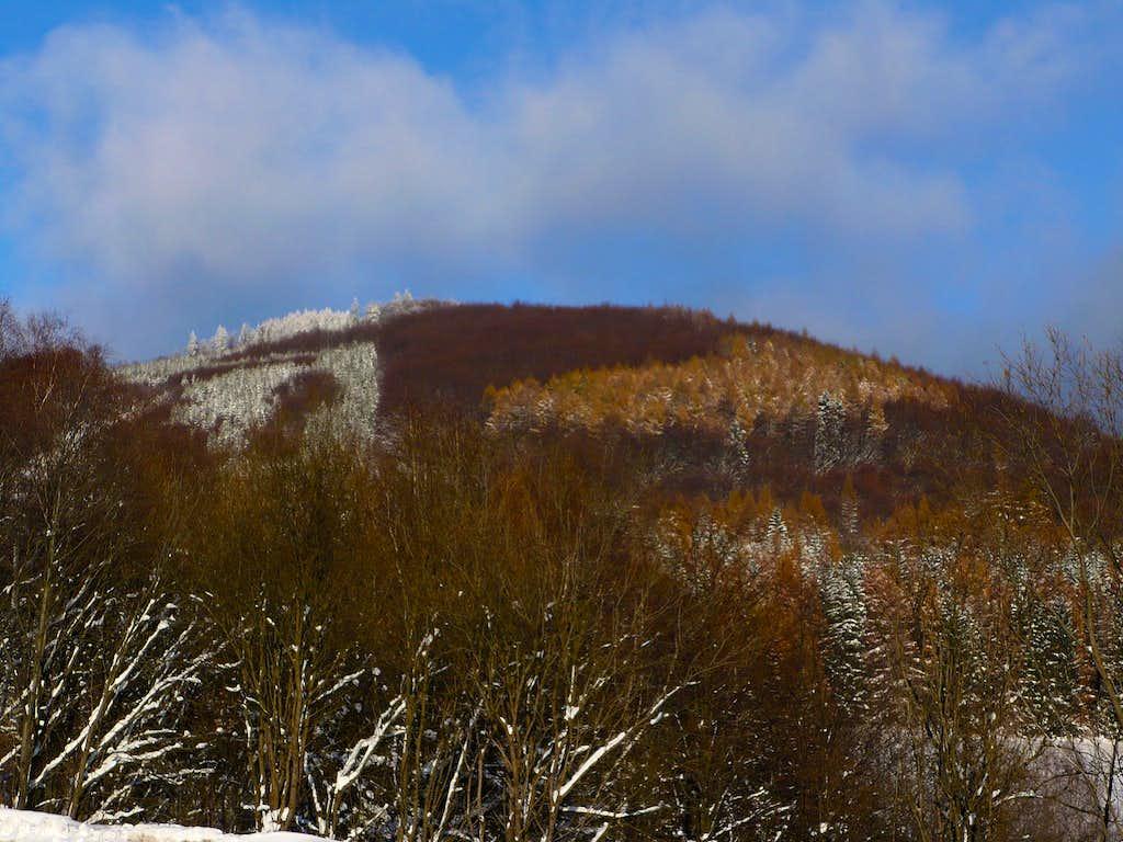 Suchá hora (1020 m)