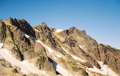 Cadet Peak from the ESE (from...