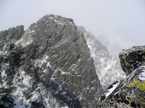 Mlynické Solisko summit view