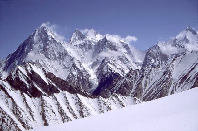 The entire Gasherbrum Group,...