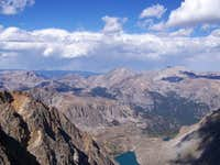 View from 12,799 ft