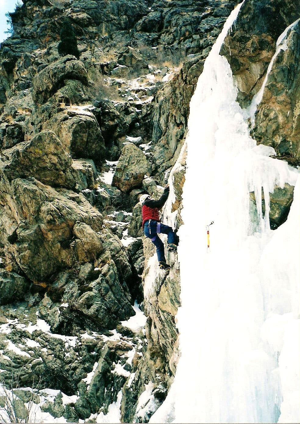Clear Creek Canyon Ice Colo.