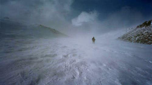 Coming Down Saint Marys Glacier