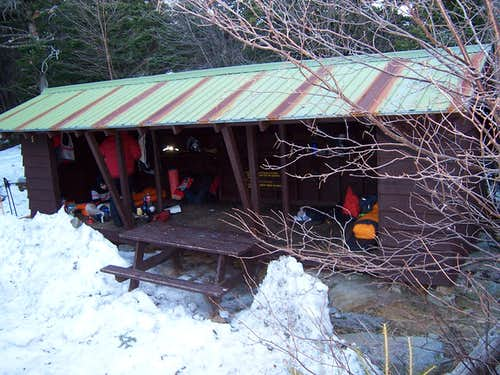 Hermit Lake Shelters