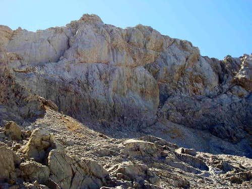 North wall of Llambrión