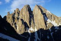 Peak Fifteen and Turret Peak