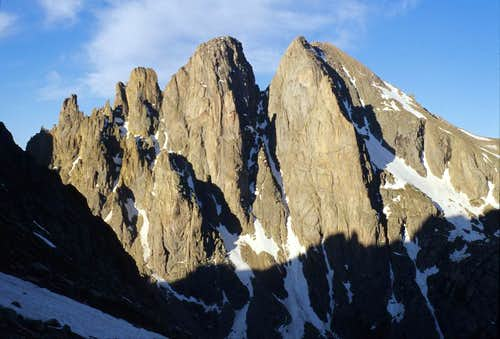 Peak Fifteen and Turret Peak