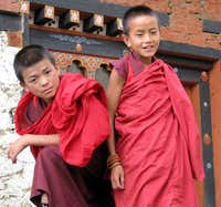 Monks in Gasa