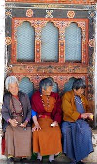 Women at monestary