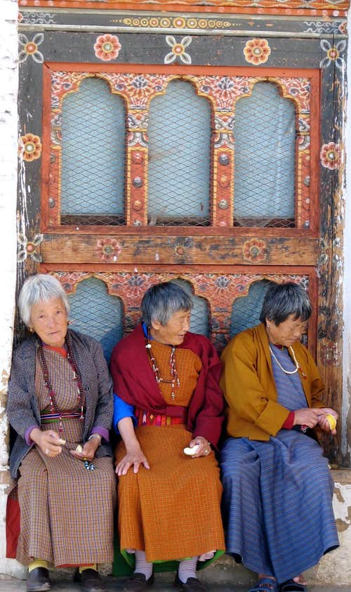 Women at monestary