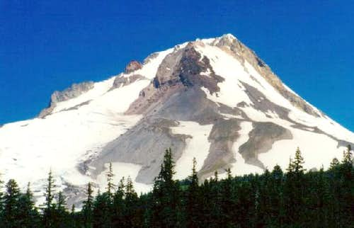Mount Hood as viewed from the...