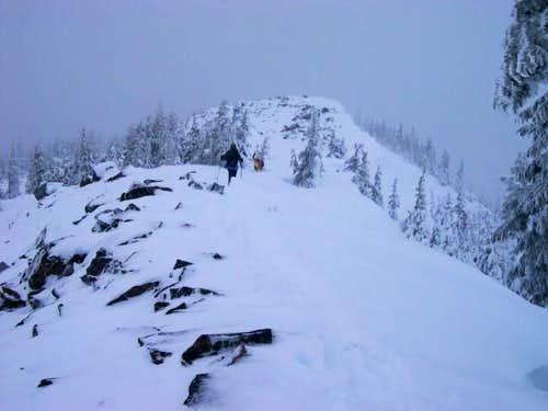Summit ridge of TD&H...