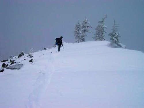 Summit ridge of TD&H. Note...