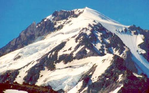 A close view of Mount Hood...