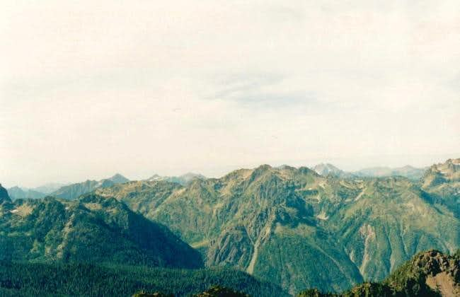 Mt Skokomish as seen Mt...