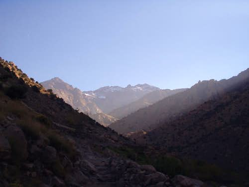 Toubkal from a distance