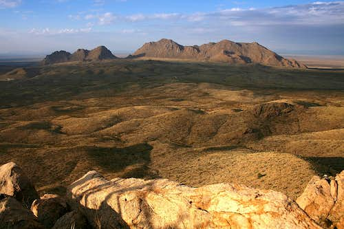 Northern section, Doña Ana Range