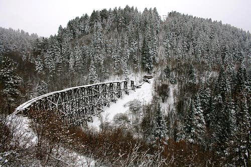 Historic Mexican Canyon trestle
