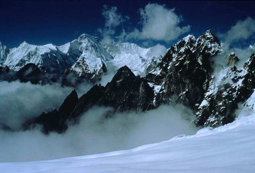 Cho Oyu from the West Slopes of Cholatse