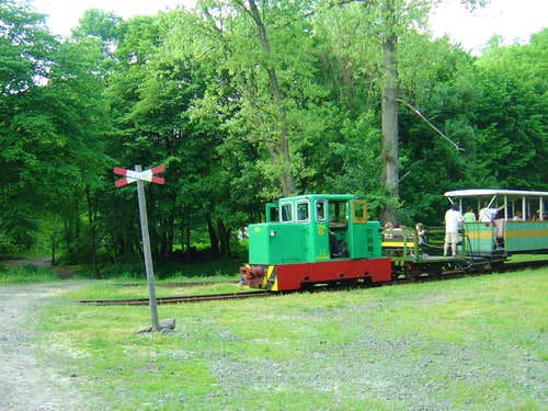 Narrow gauge rail