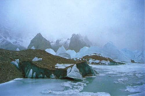 Magnificent scenery at the...