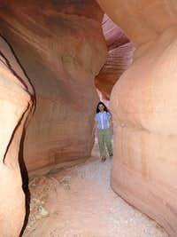 Red Canyon - Peek-a-Boo