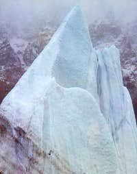 Sharp Ice tower at the...