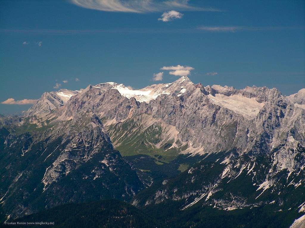 Unknown view of Zugspitze