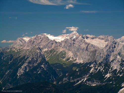 Unknown view of Zugspitze