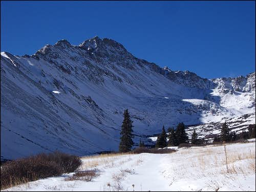 Mt. Garfield from McNasser Gulch.